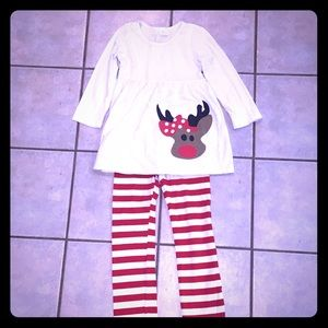 Size 7/8 Christmas Outfit